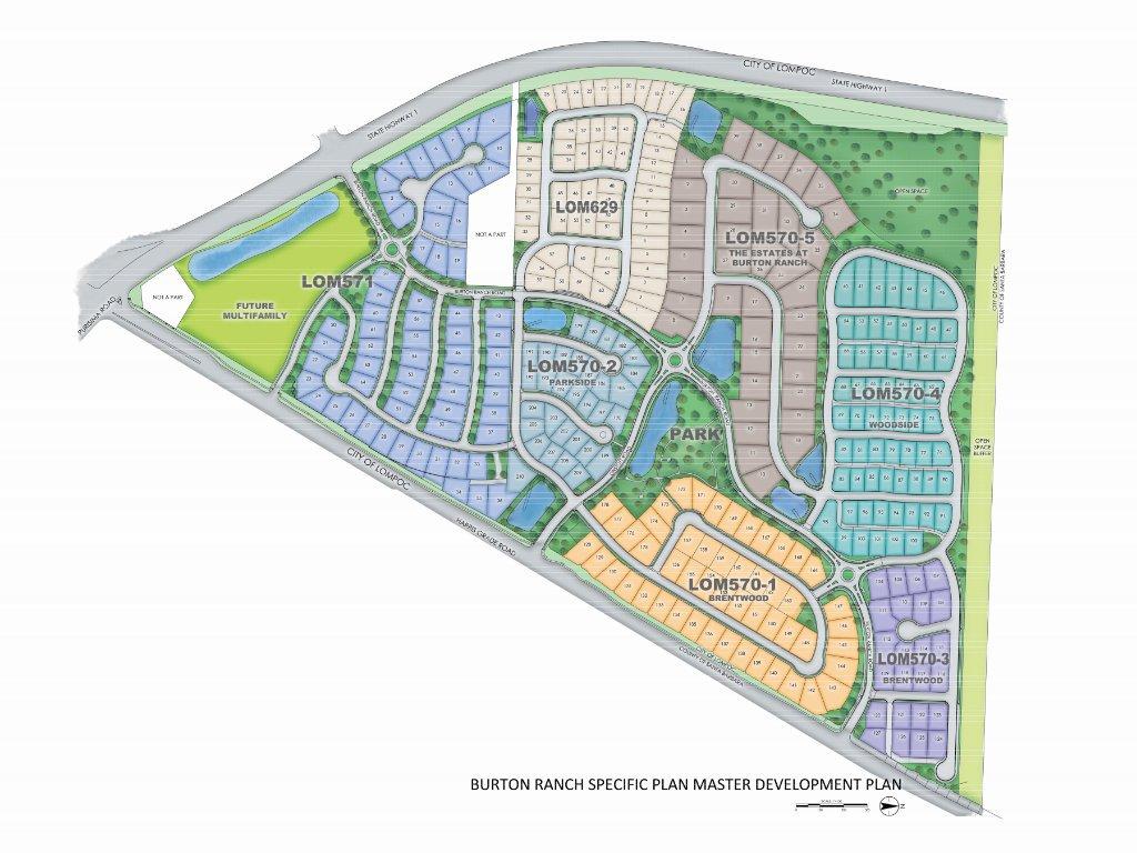 Burton Ranch Specific Plan Master Development Plan